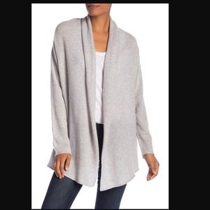 Halogen Shawl Collar Cashmere Cardigan Sweater